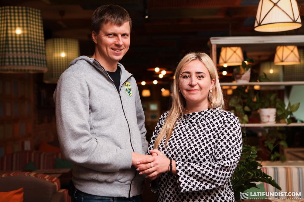 Алексей Мушак и Наталия Билоусова