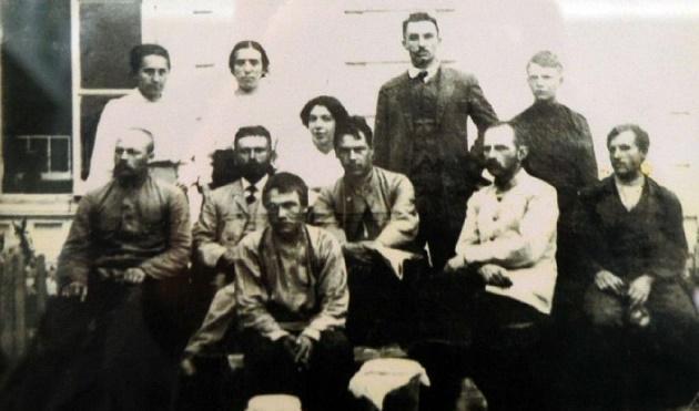 Сотрудники опытной станции, 1910 г.