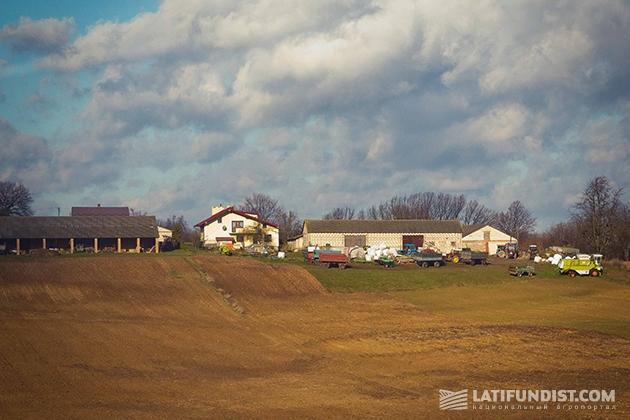 Фермерское хозяйство в Польше