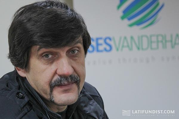 Сергей Дучак, агроном ООО «Сесвандерхаве-Украина»
