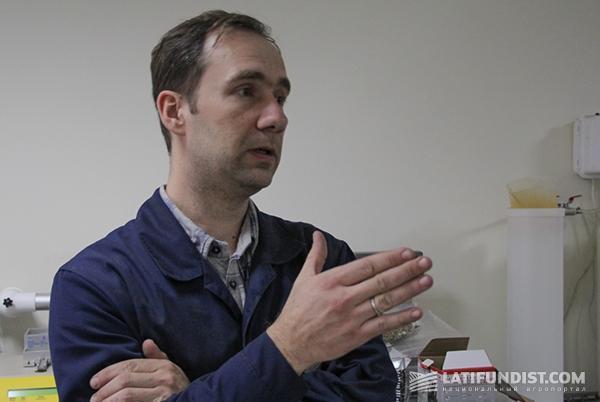 Константин Шевченко, заведующий лабораторией ООО «Сесвандерхаве-Украина»