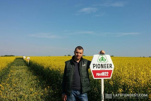 Региональный менеджер по Северо-Западному направлению Украины DuPont Pioneer Иван Лампека