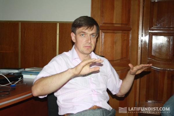 Финансовый директор Grain Alliance Евгений Радовенюк