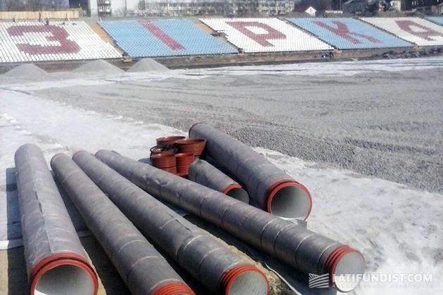 Реконструкция стадиона Зирка