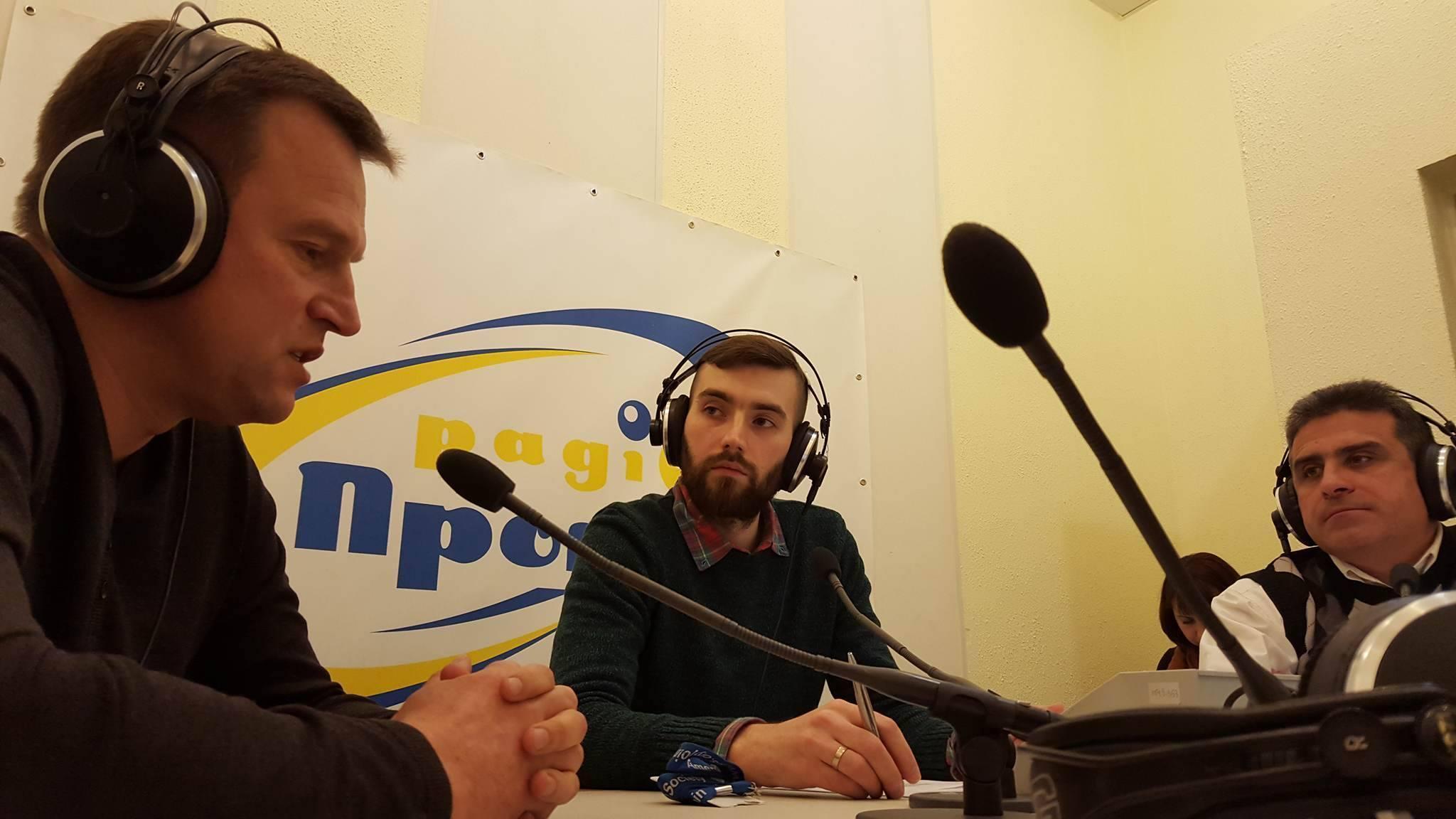 Виталий Скоцик на радио