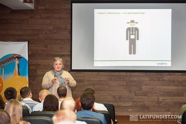 Руководитель по развитию бизнеса Syngenta в Украине Хелен Фейрлемб