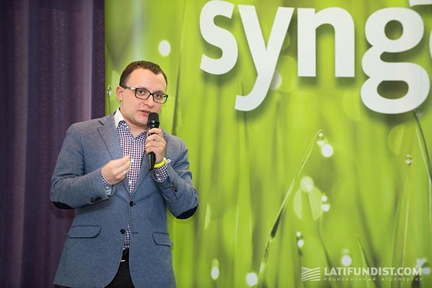 Менеджер по развитию бизнеса Syngenta Петр Федина