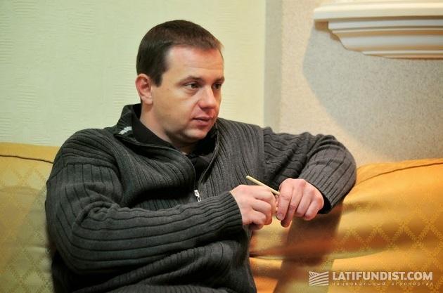 Генеральный директор агрохолдинга «Галс Агро» Сергей Кравчук