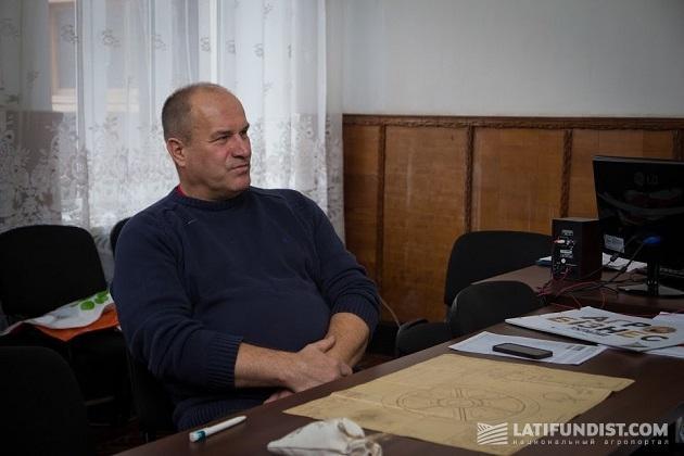 Директор Капитановского сахарного завода Юрий Нечипоренко