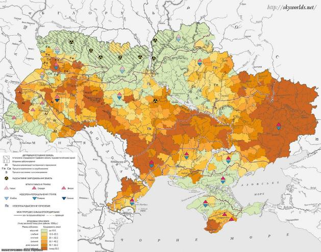 Деградация почв в Украине