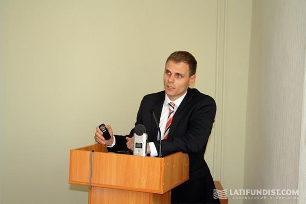 Руководитель проекта по внедрению аграрных расписок IFC Сергей Рабенко