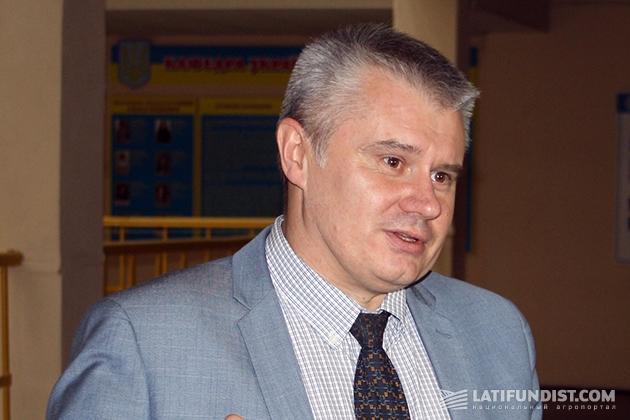 Директор департамента экономического развития аграрного рынка Минагропрода Виталий Саблук