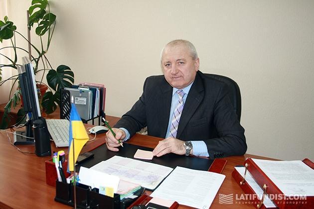 Заместитель главы Володарской райгосадминистрации Владимир Павлушин