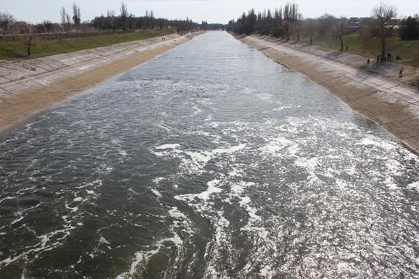 Крымский канал до