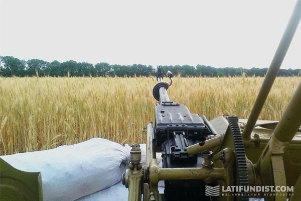 техника в поле