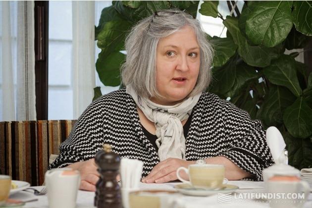 Хелен Фейрлемб, руководитель по развитию бизнеса Syngenta в Украине