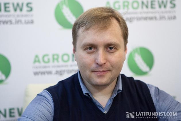Генеральный директор «Центра повышения эффективности в животноводстве» Николай Бабенко