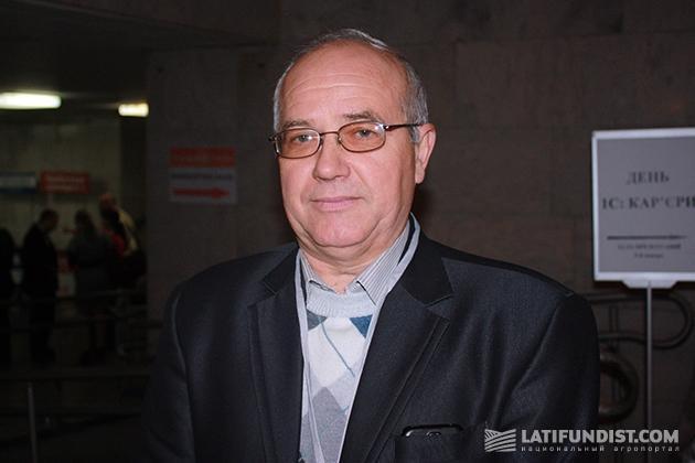 Глава правления ПАО «Племсервис» (Полтавская область) Николай Бигдан