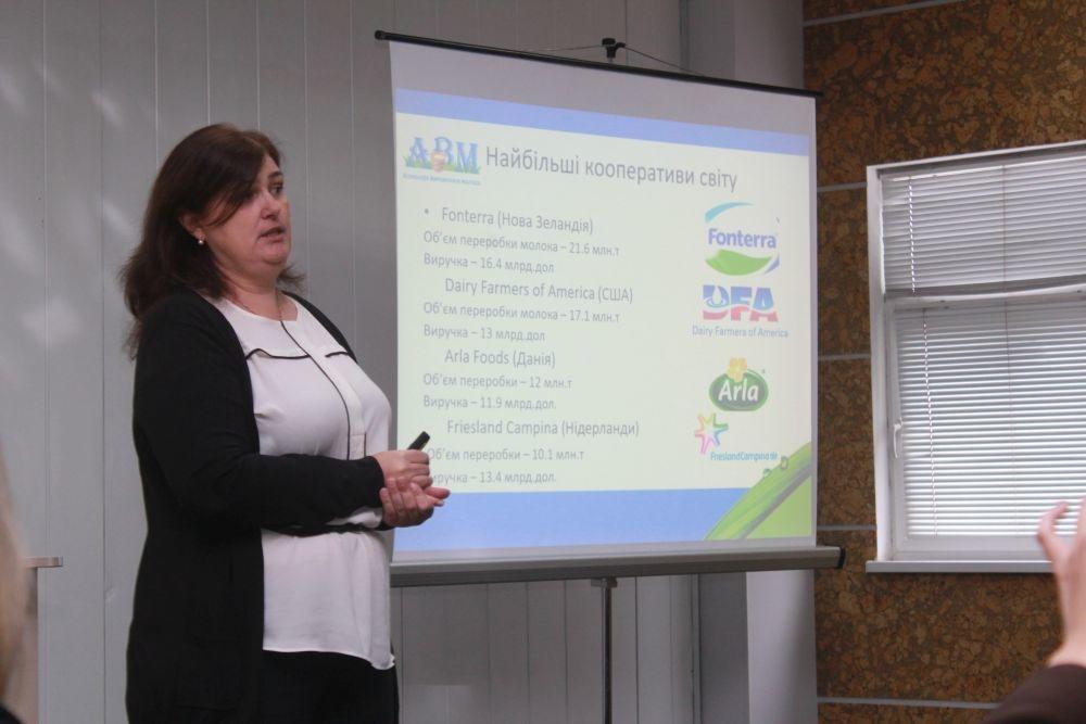 Елена Жупинас, руководитель проекта «Групповые закупки молока»
