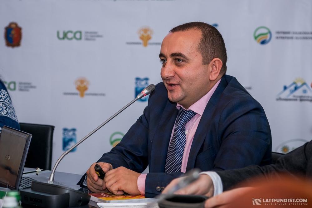 Зиновий Свереда, президент Украинского кооперативного альянса