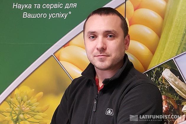 Роман Нижник, руководитель отдела продаж компании DuPont Pioneer