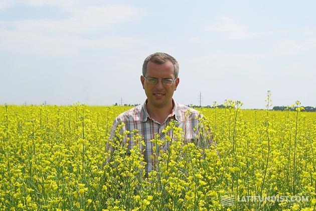 Сергей Заводской, агроном хозяйства «Корс КЛН»