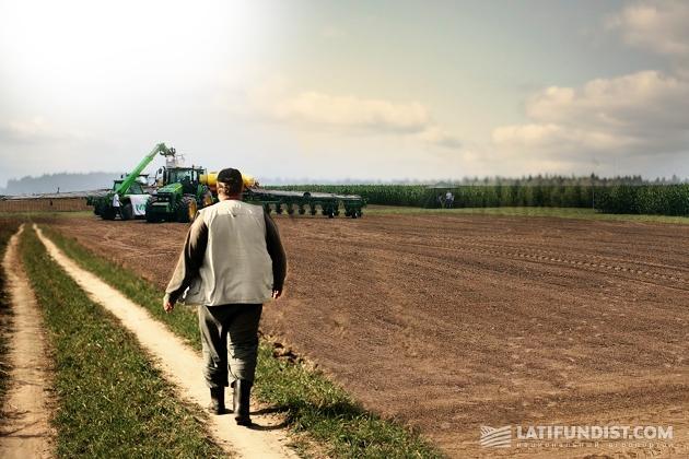 Фермер не скрывает, что задействует сельхозагрегаты сверх нормы