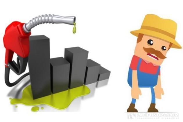 По словам министра Алексея Павленко, обеспеченность сельхозпроизводителей дизтопливом и бензином с начала года является низкой — 67,0% и 67,2% от технологической потребности соответственно.