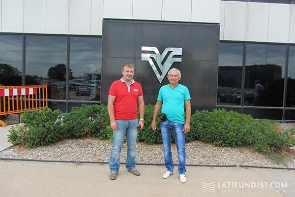 Слева-направо: Валентин Балицкий и Андрей Куривчак
