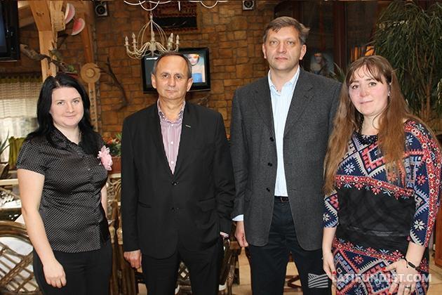 Бизнес-завтрак с Александром Мельником и Алексеем Крутыбичем