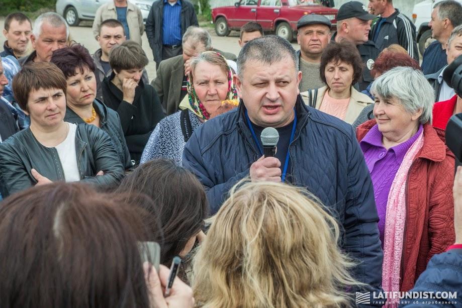 Валерий Жук, первый заместитель директора Староконстантиновского молокозавода