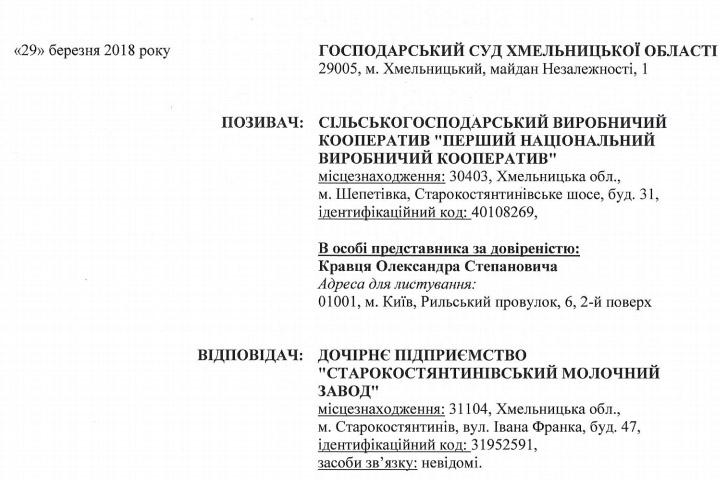 Исковое заявление по договору №3