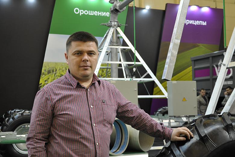 Александр Юзьков, руководитель направления по VIP клиентам, оросительные системы компании «Вариант Агро Строй»