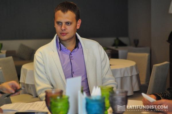 Директор филиала «ОДА Украина» Евгений Пастухов