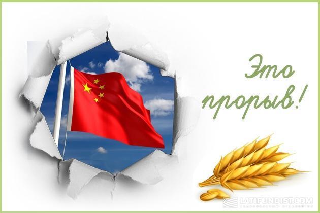 Прорыв в Китай