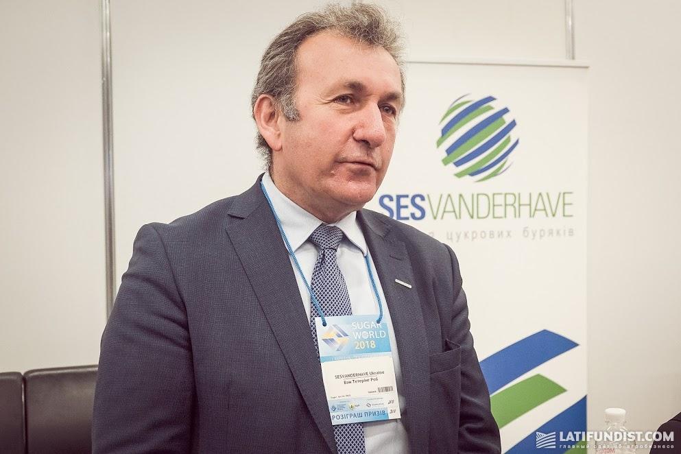 Роб ван Тетеринг, генеральный директор компании SESVanderHave