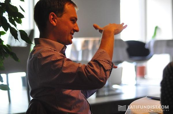 Сооснователь эстонской компании Vital Fields Мартин Ранд