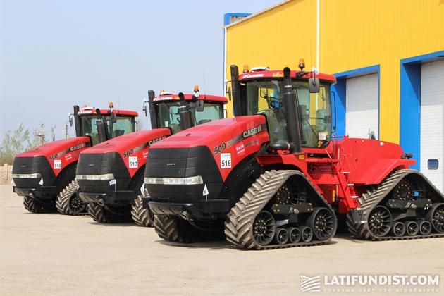 Крупные агрохолдинги обновляют машинно-тракторный парк