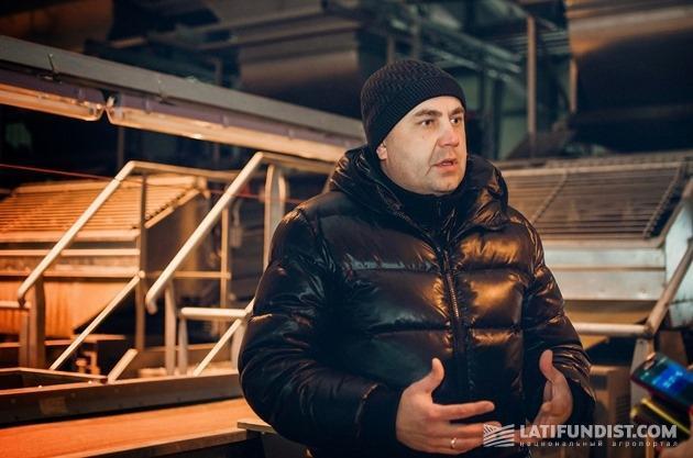 Валерий Булаев, заместитель главного технолога ООО «ЛНЗ Агро»