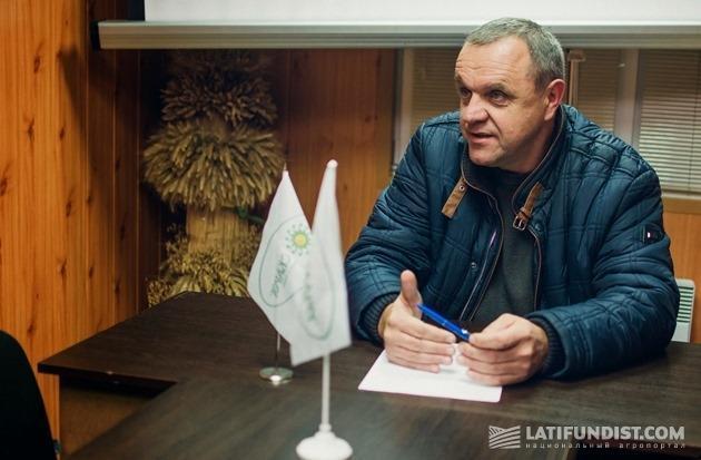Владимир Степанчук, директор семенного завода агрокомпании Сварог Вест Груп