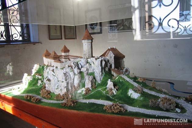 Вот так выглядел Ойцувский замок в лучшие времена