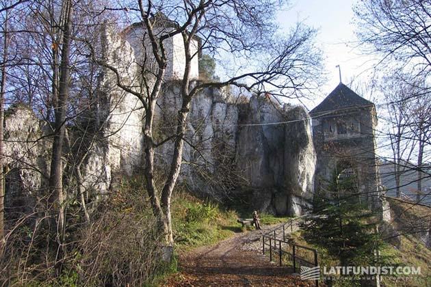 Руины замка сегодня