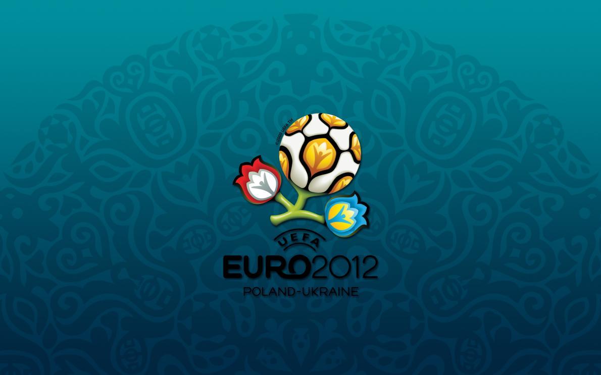 Логотип Украины на чемпионате по футболу «Евро-2012»