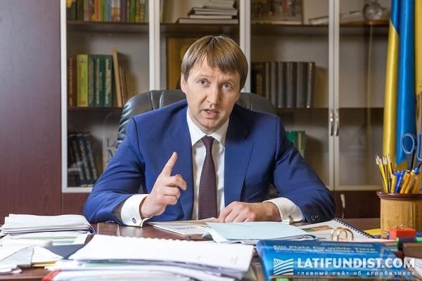 глава Минагропрода Тарас Кутовой