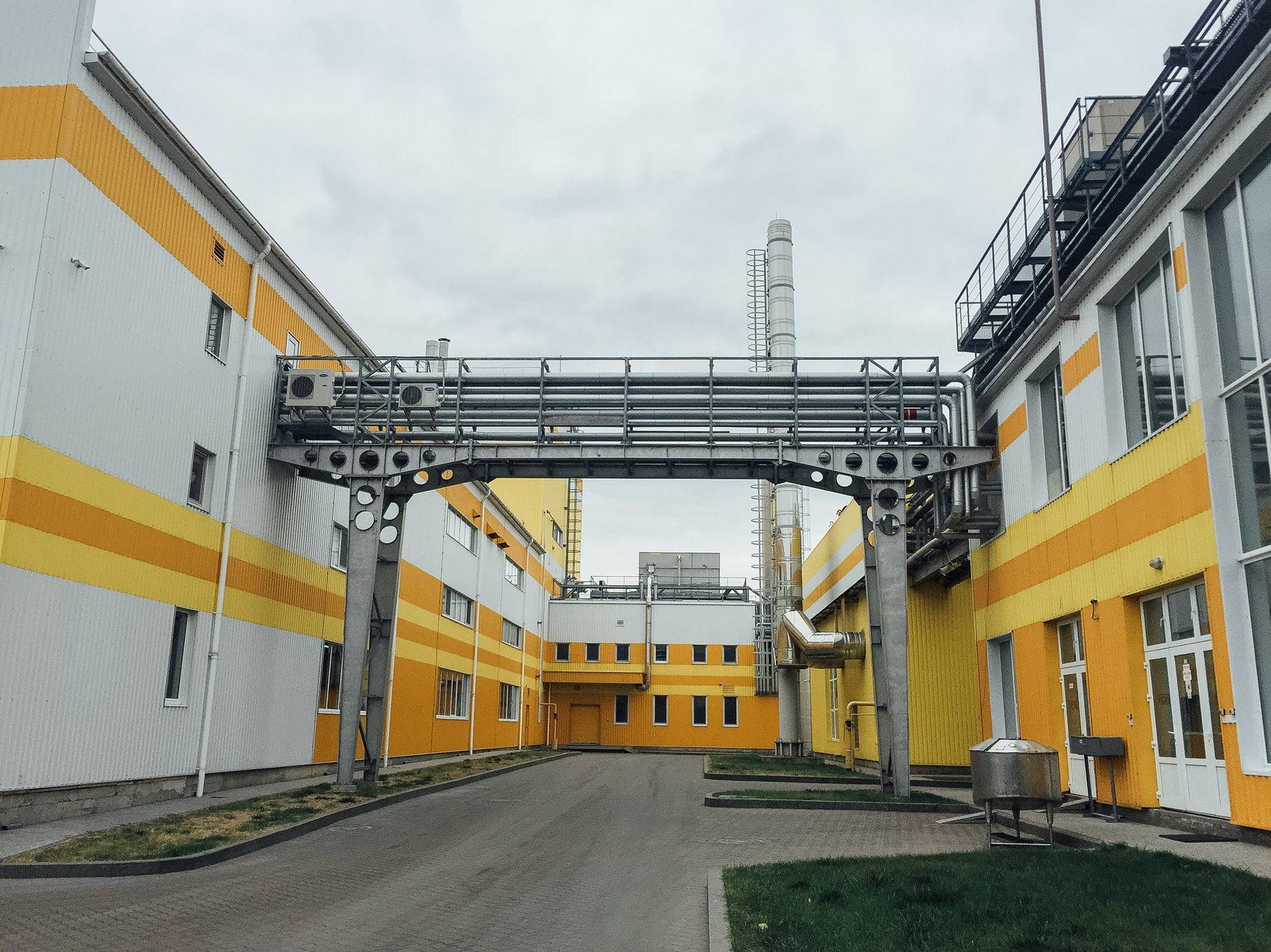 Молочный завод компании «Люстдорф»