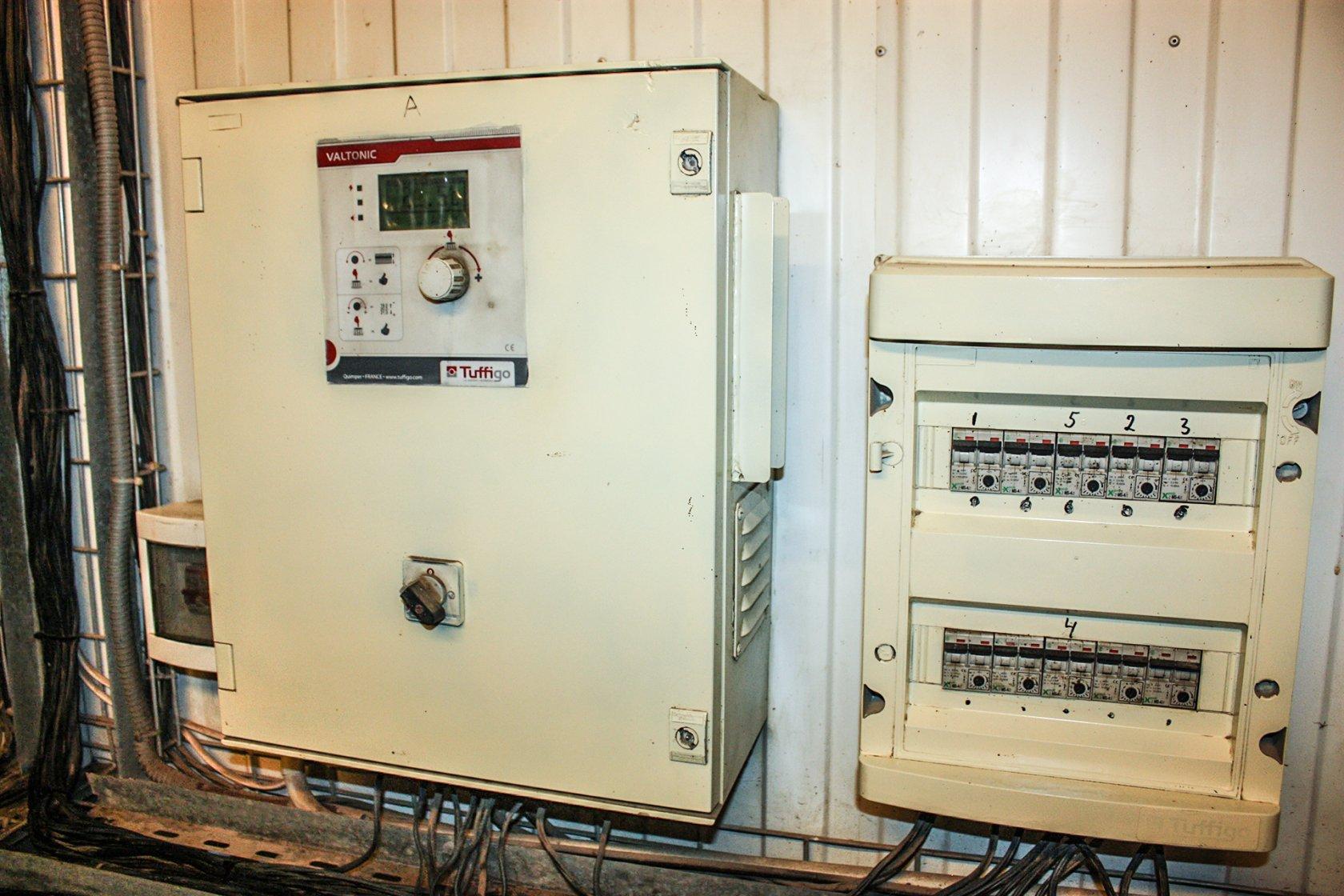Взгляд изнутри Свинокомплекс com система поддержки температурного режима