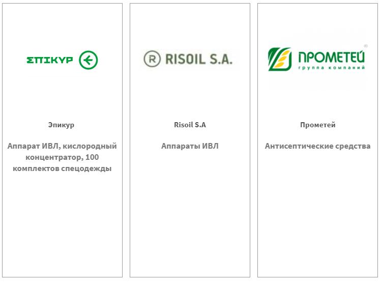 Эпикур, RISOIL S.A, Прометей